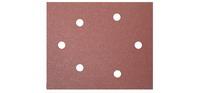 Carta Abrasiva 100X115 Gr80  5 Pezzi Cod.1905125 - Valex