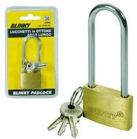 Lucchetti Blinky Ottone - 3617 Arco Lungo Cod.2670030 - Blinky