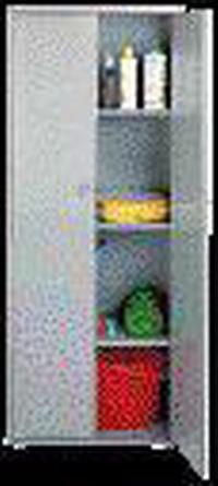 Armadi Resina Grigio 2 Porte - 70X39X172H Cod.2831520 - Vuemme