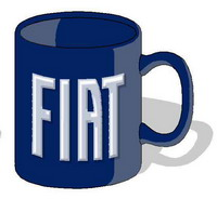Tazza Fiat Fice02 Forme Cod.FICE02 - Fiat