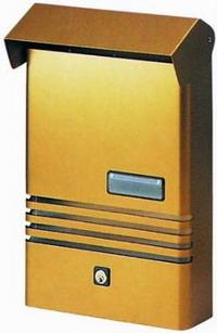 Cassette Per Lettera Alu Blinky - Lido-Maxi Cod.2728020 - Blinky