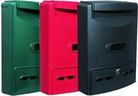 Cassette Per Lettera Alu Blinky - Euro-Maxi Verde Cod.2728530 - Blinky