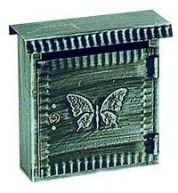 Cassette Per Lettera Fe-Battuto - Piccola Antichizzata Cod.2734010 - Blinky