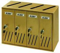 Casellari Postali Blinky - Alu Bronzo K-4 Sr.4 Cod.2735804 - Blinky