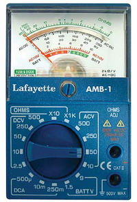 Multimetro Analogico Amb-1 Cod.33095005 - La Fayette
