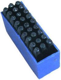 Punzoni/Lettere Scat.Plastica - Mm.  4 Cod.4031004 - Vuemme