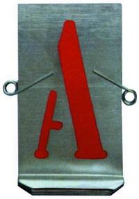 Stampi Lettere Lamiera Zincat - Mm. 80 Cod.4033018 - Vuemme