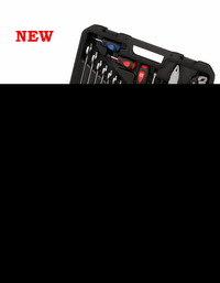 Cassetta Utensili Professionali 72 Pz. Cod.500011 - Airtec