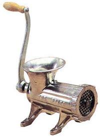 Tritacarne Tre-Spade Ghisa - N.   22 Cod.9524022 - Tre spade